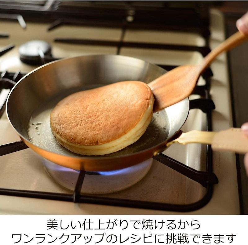 オークス,ameiro銅フライパン(錫メッキなし),COS8003