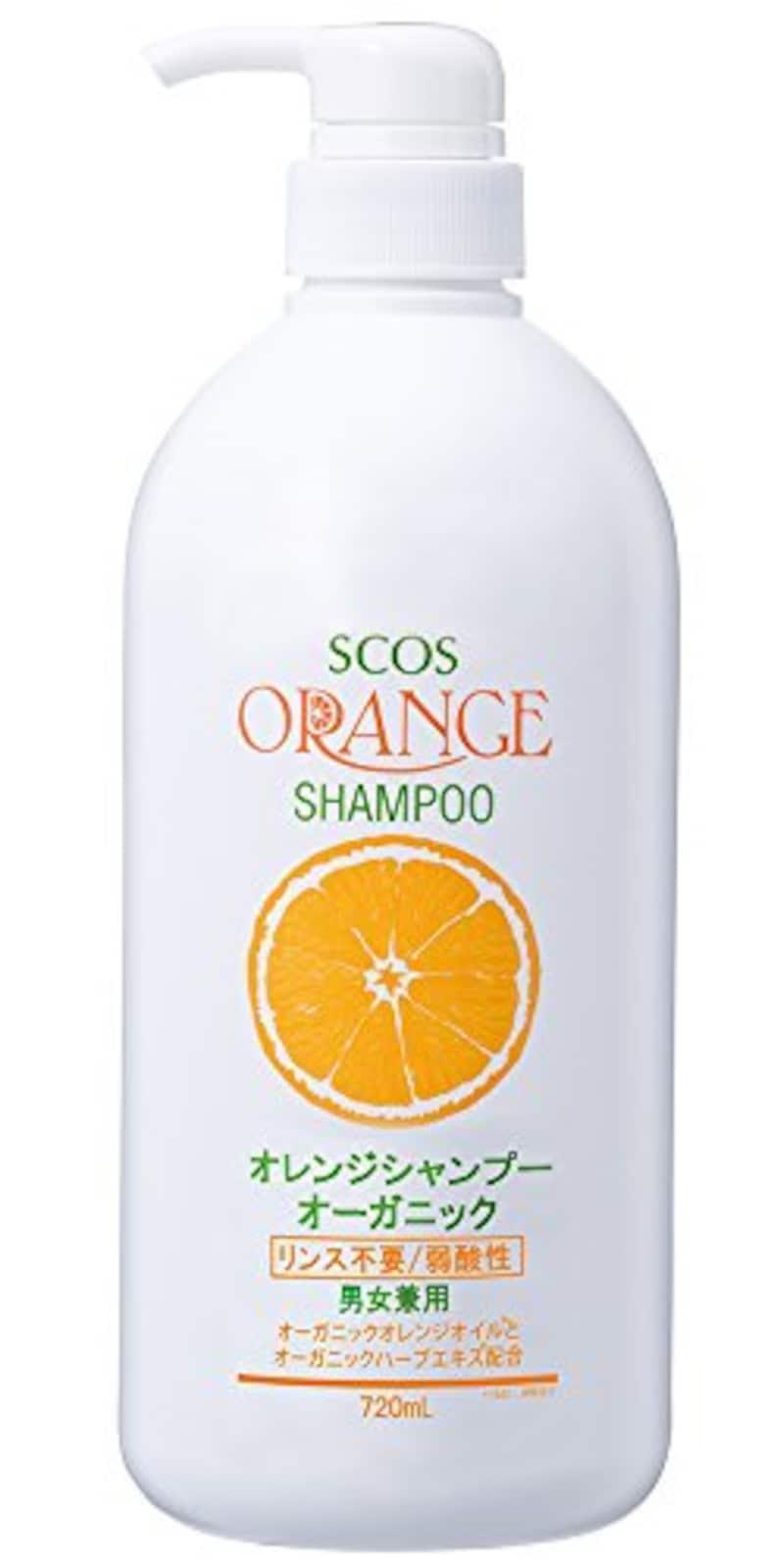 エスコス,オレンジシャンプーオーガニック