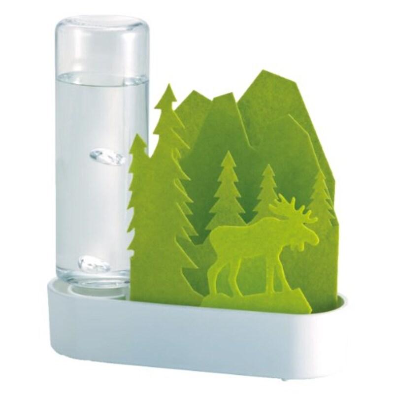積水樹脂,自然気化式ECO加湿器 うるおいちいさな森 エルク グリーン,ULT-EL-GR