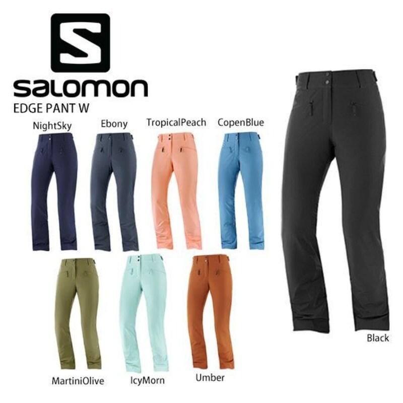 SALOMON(サロモン),〔サロモン スキーウェア レディース パンツ〕<2021> EDGE PANT W〔エッジパンツ,cd35628