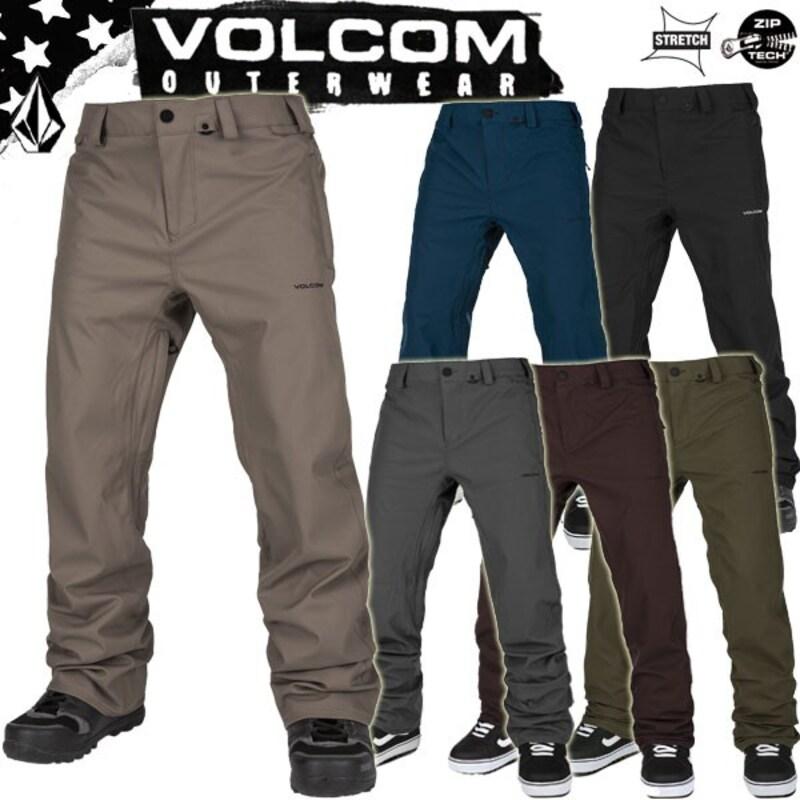 VOLCOM(ボルコム),FREAKIM SNOW CHINO パンツ,13-pikes-blac