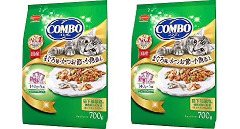 コンボ,まぐろ味・かつおぶし・小魚添え 2袋