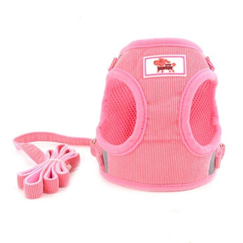 ZUNEA,犬用ハーネス,CWYP00137-pink-XS