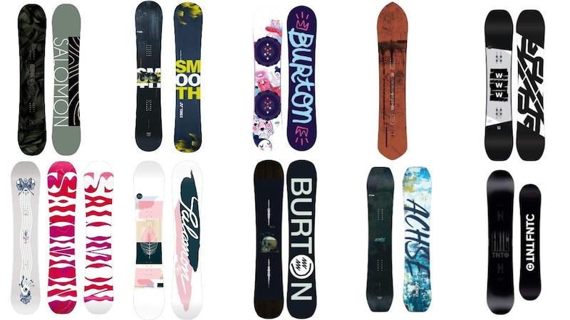 【20-21】スノーボード板おすすめランキング21選|種類やブランド、最新商品を徹底解説