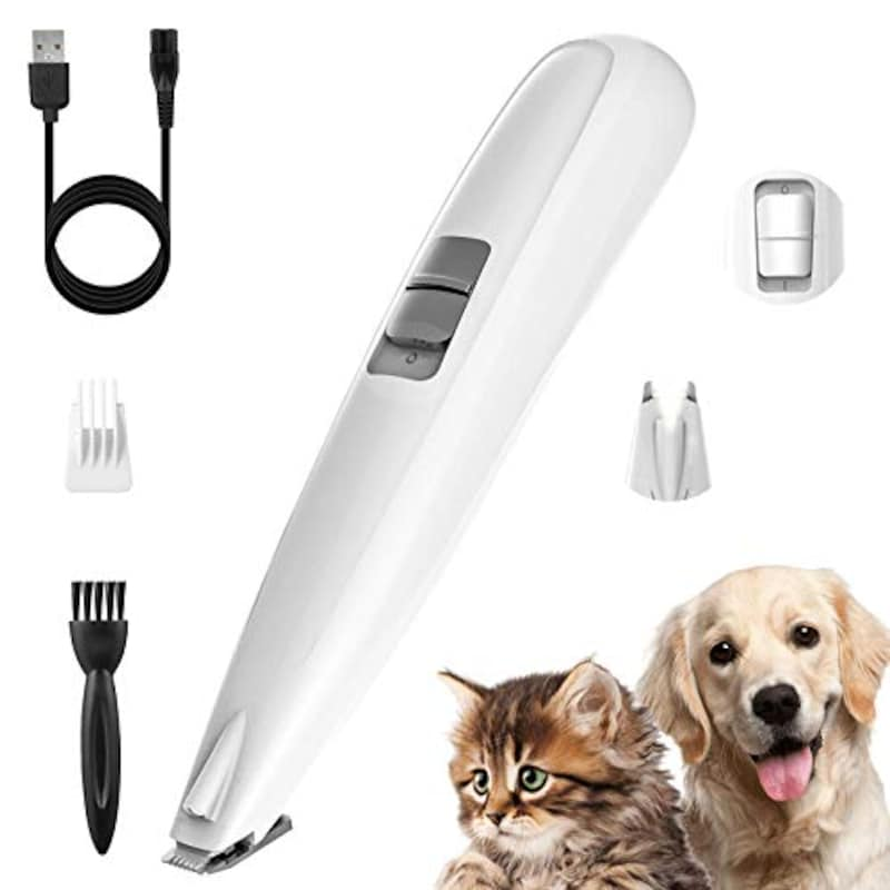 petnf,ペット用バリカン LEDライト付き