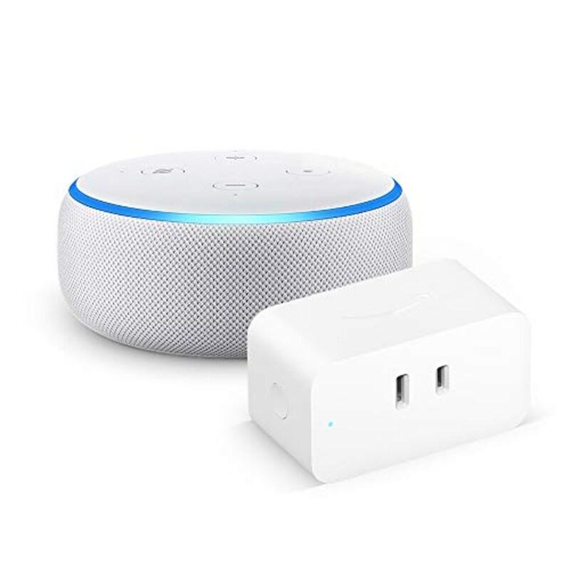 Amazon,【セット買い】Echo Dot 第3世代 サンドストーン + Amazon スマートプラグ