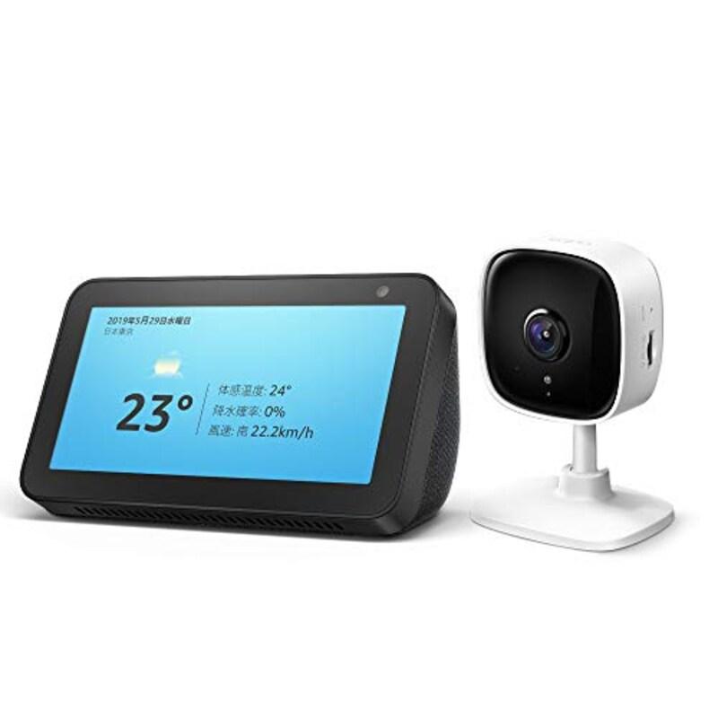 Amazon,Echo Show 5 (エコーショー5) スクリーン付きスマートスピーカー ネットワークカメラ