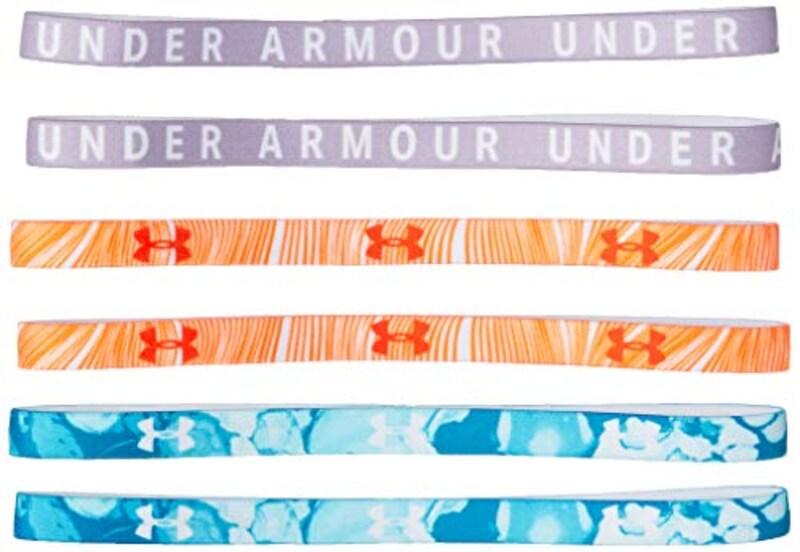 UNDER ARMOUR(アンダーアーマー),グラフィックミニヘッドバンド6パック,1286897