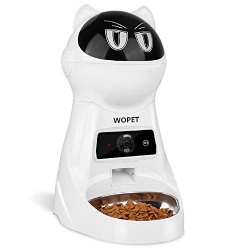 Wopet,タイマー式自動給餌器