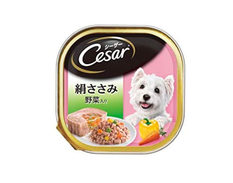 マースジャパンリミテッド,シーザー 成犬用 絹ささみ野菜入り ,10106254