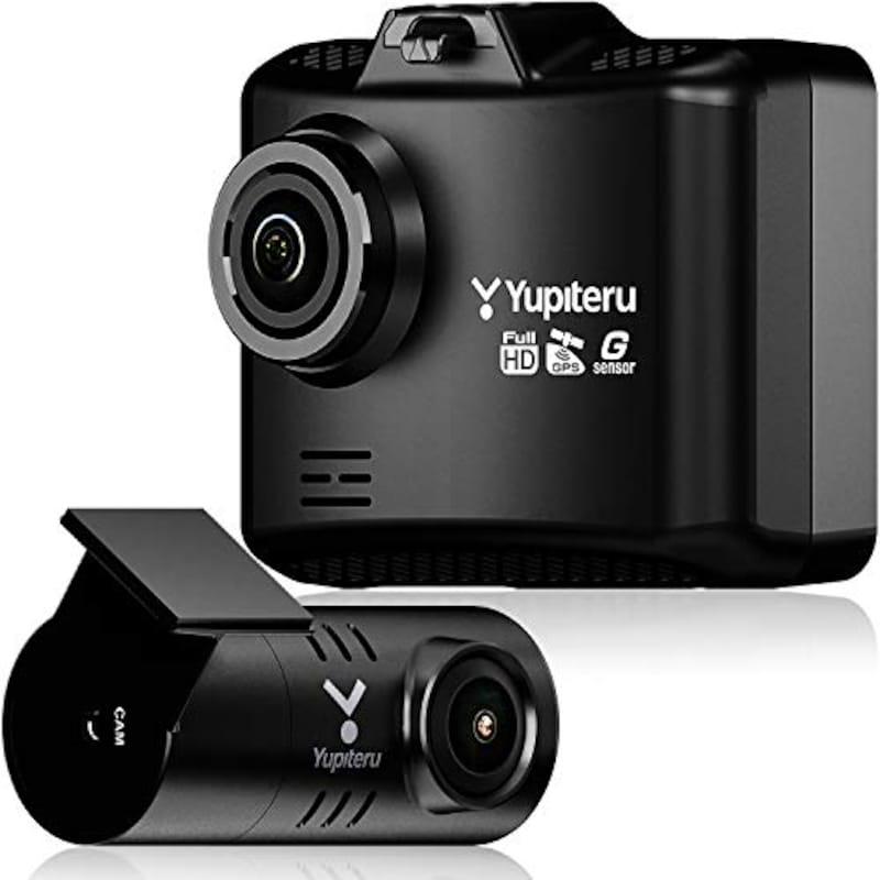 YUPITERU(ユピテル),前後2カメラ ドライブレコーダー,WDT510c