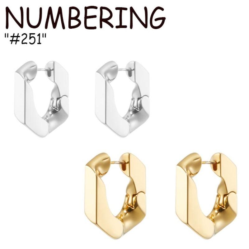 NUMBERING(ナンバリング),ナンバリング ピアス,ojw-nm20-300928732
