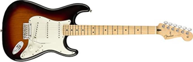 Fender(フェンダー),Player Stratocaster Maple Fingerboard, 3-Color Sunburst