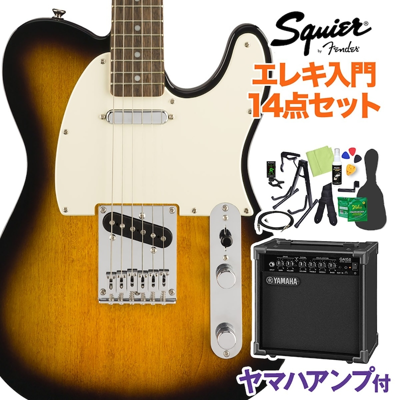 Squier(スクワイヤー),Bullet Telecaster エレキギター初心者14点セット