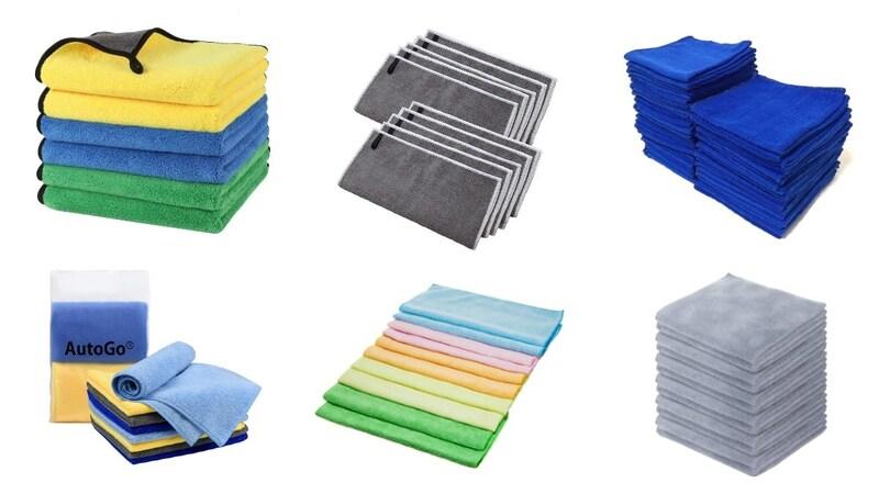 洗車用マイクロファイバークロスおすすめランキング14選|拭き上げに最適なタオルを比較!使い方も紹介