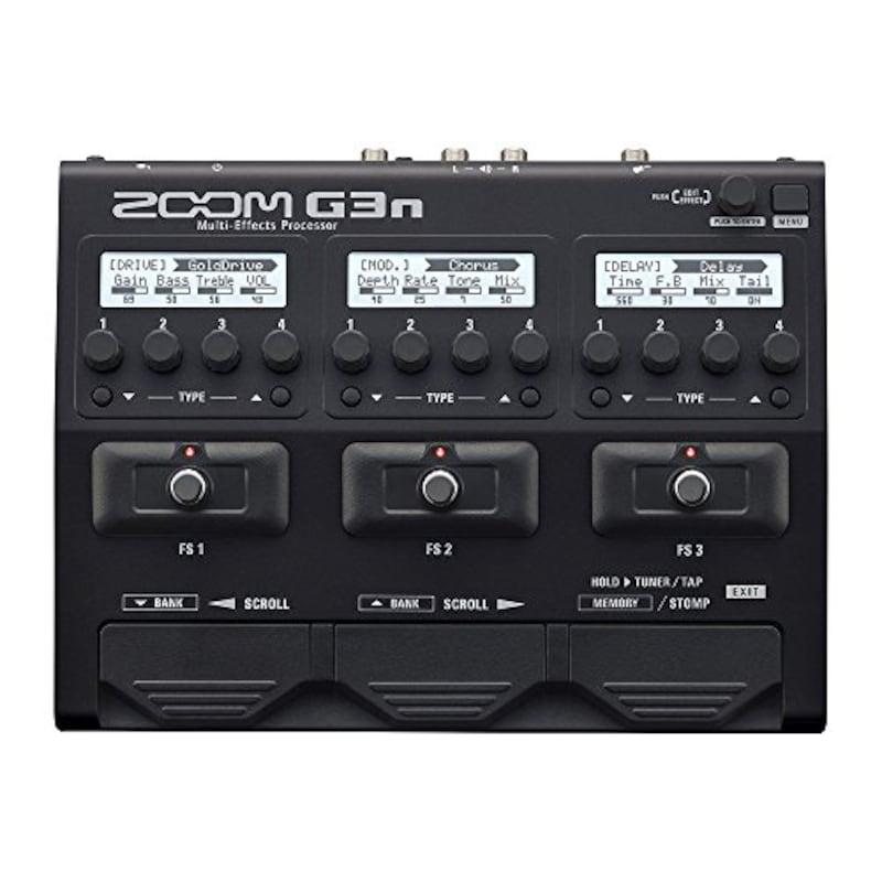 ZOOM(ズーム),ギター用マルチエフェクター G3n