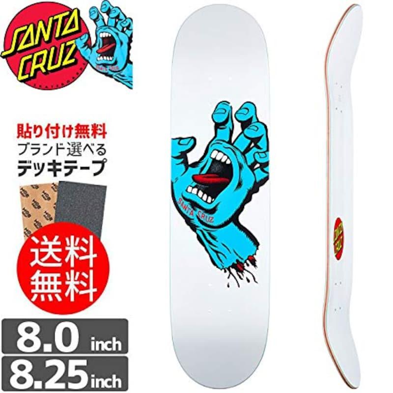 SANTA CRUZ(サンタクルーズ),デッキ SCREAMING HAND TAPER TIP DECK
