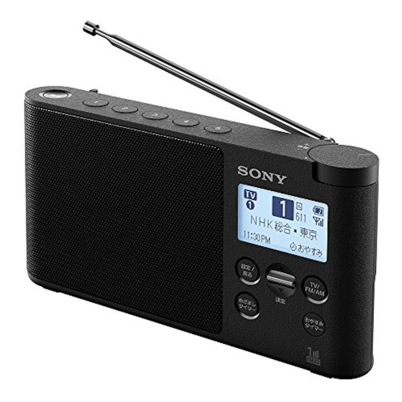 SONY,ワイドFM対応ラジオ,XDR-56TV B