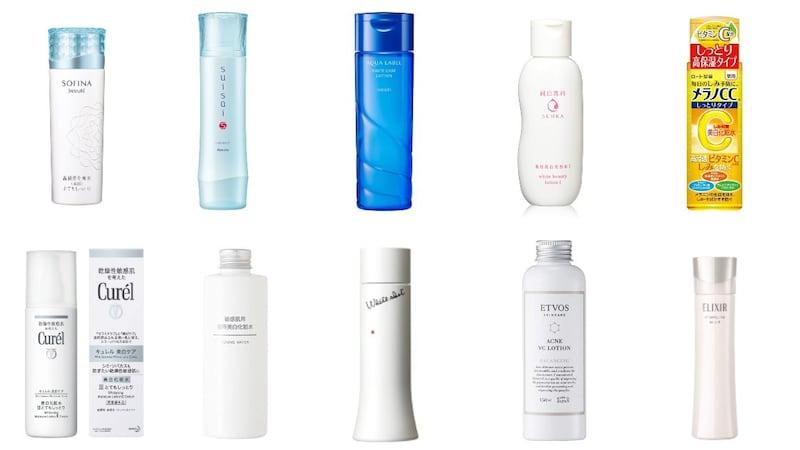 美白化粧水おすすめ人気ランキング30選|シミやそばかすに効果的なのは?市販品を徹底比較!