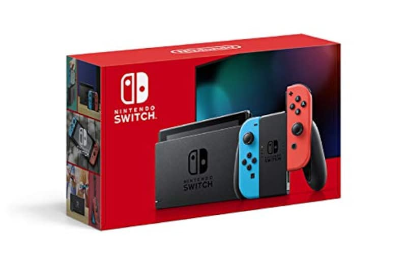任天堂,Nintendo Switch 本体 (ニンテンドースイッチ) Joy-Con(L) ネオンブルー/(R) ネオンレッド