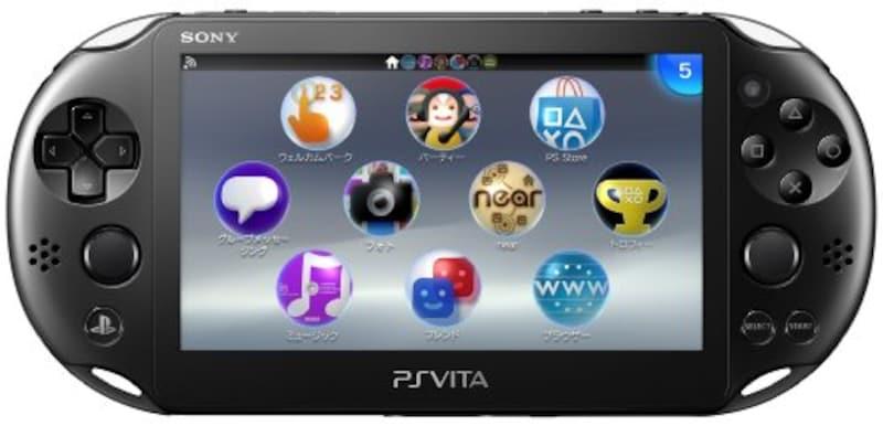 ソニー・インタラクティブエンタテインメント,PlayStation Vita Wi-Fiモデル ブラック,PCH-2000ZA11
