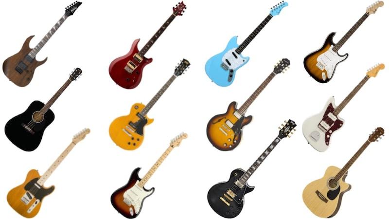 初心者におすすめのギター25選|アコギ・エレキの人気メーカーや選び方を紹介!必要なものが揃うセットも