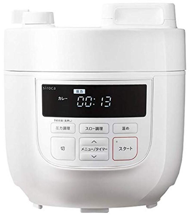 シロカ,電気圧力鍋,SP-D131