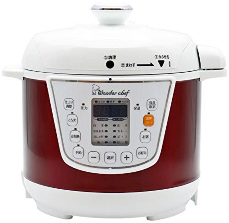 ワンダーシェフ,電気圧力鍋,OEDC30-R1