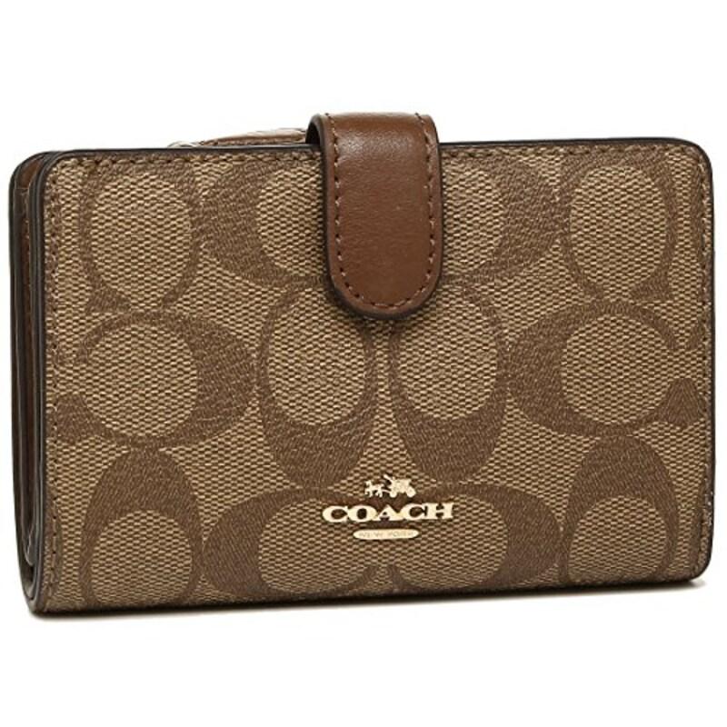 COACH(コーチ),シグネチャー二つ折り財布,F23553