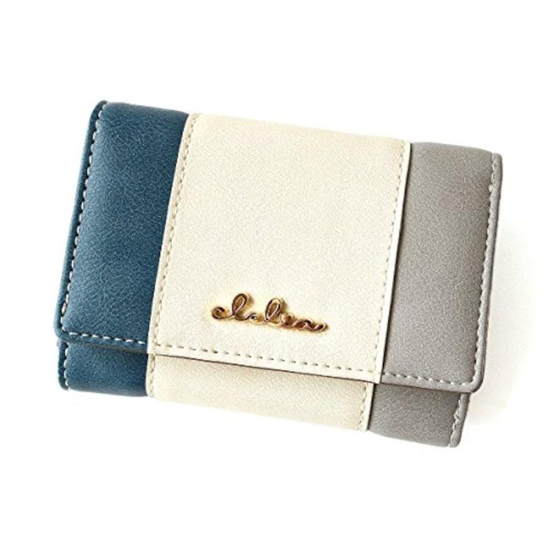 Clelia(クレリア),トリコロール ミニ財布