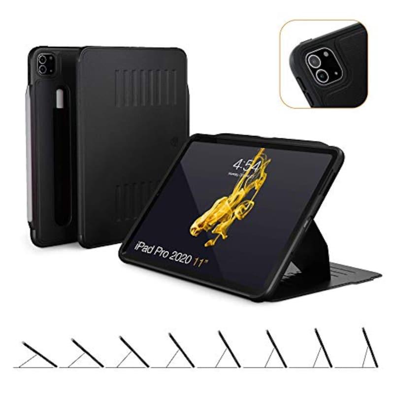 ZUGU CASE, iPad Pro 11 ケース 2020 第2世代 The Alpha Case 極薄