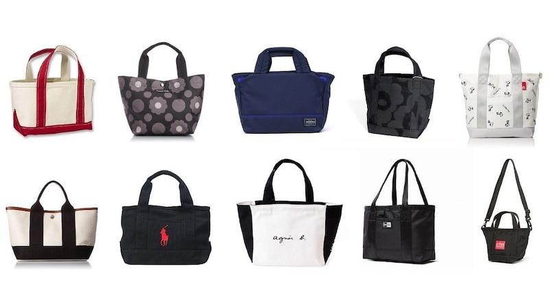 ミニトートバッグのおすすめブランドと人気39選|レディース・メンズのおしゃれ商品をランキング!作り方も紹介