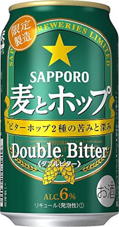 サッポロビール,麦とホップ ダブルビター【期間限定】