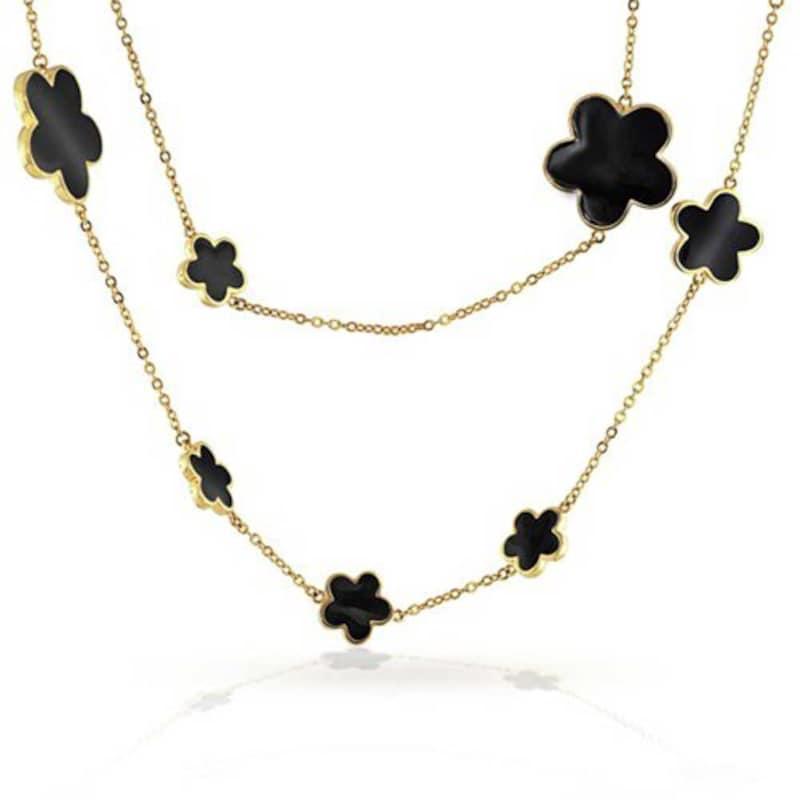 Bling Jewelry(ブリングジュエリー),フラワーティンカップ ロングネックレス