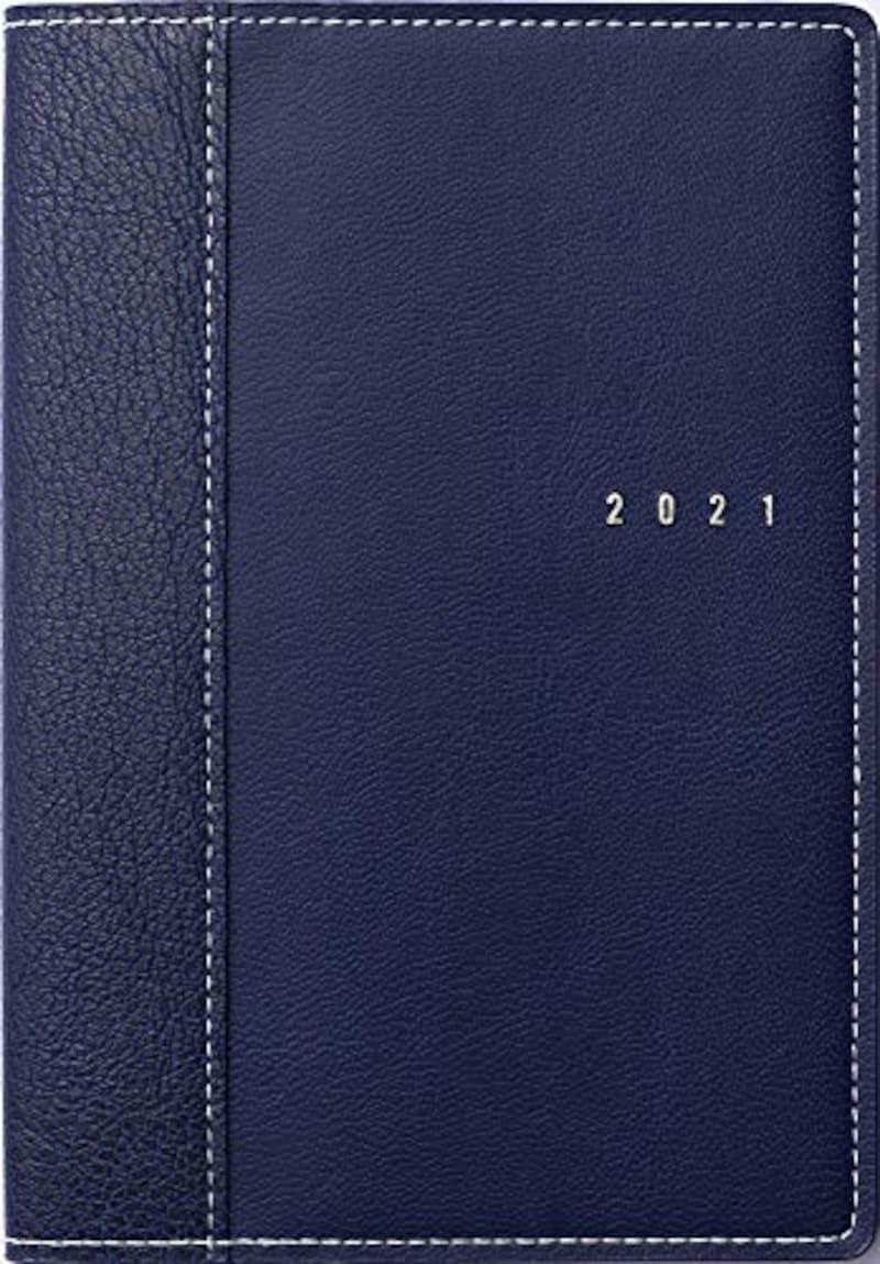 高橋書店,2021年 B6 ウィークリー シャルム 1 ブルーブラック No.351 ,No.351