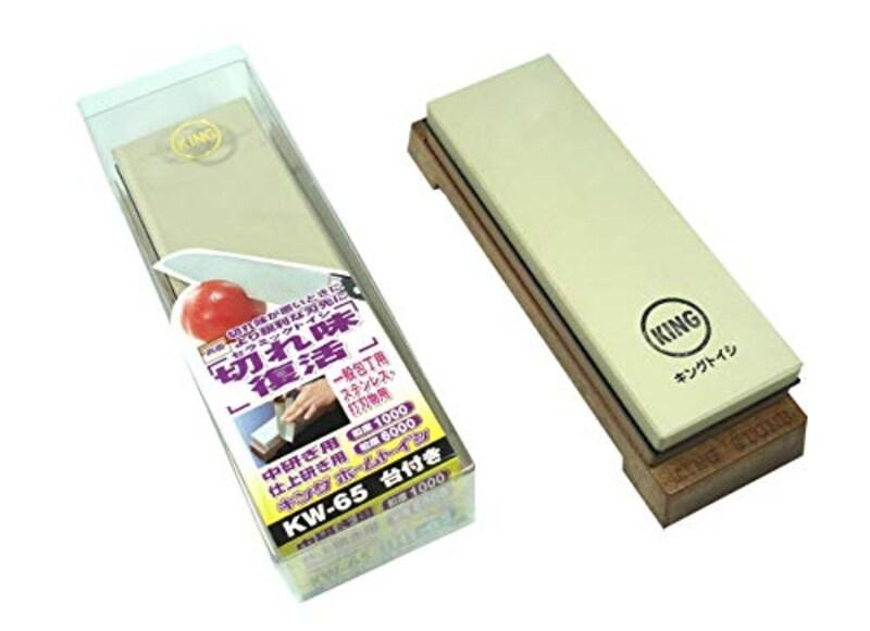 キング砥石,キング砥石 ホームトイシ 透明プラケース入,KW-65(HT-65)