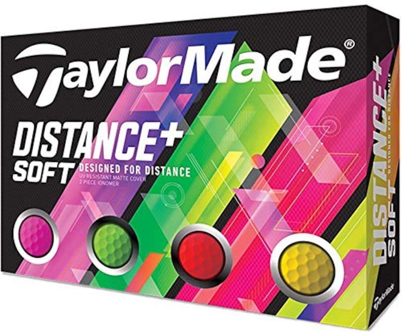 TAYLOR MADE(テーラーメイド),ゴルフボール DISTANCE DISTANCE+SOFT 12P