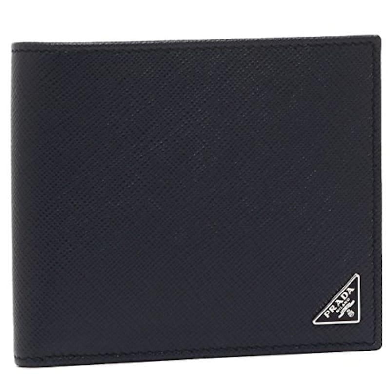 PRADA(プラダ),二つ折り財布 サフィアーノ