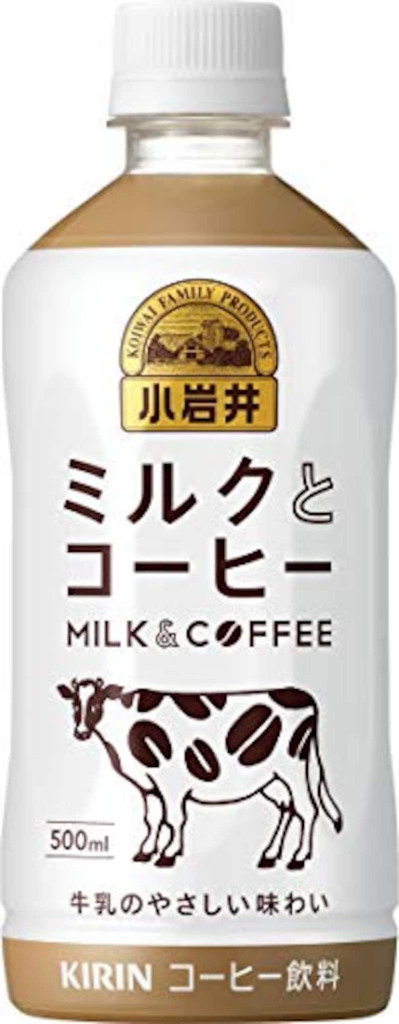 キリン,小岩井 ミルクとコーヒー 500mlPET ×24本