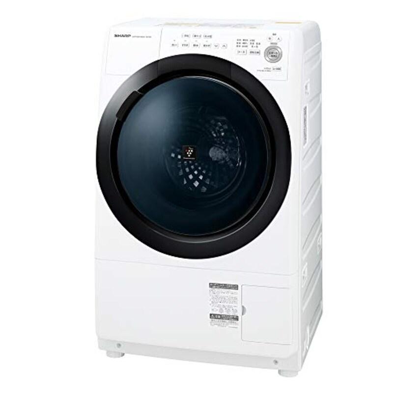 SHARP(シャープ),ドラム式洗濯乾燥機 7kg,ES-S7E-WR