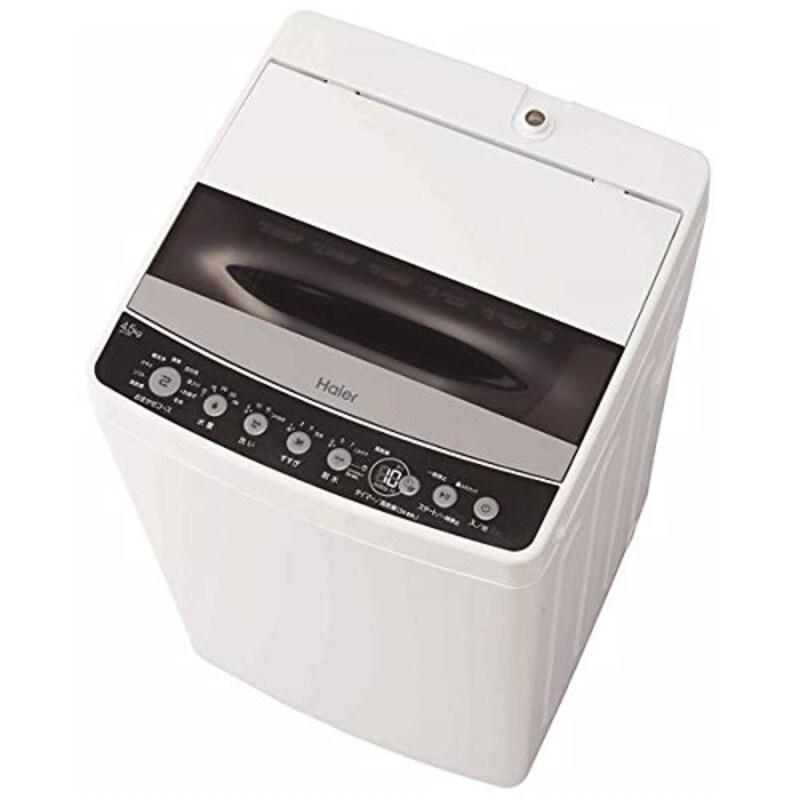 Haier(ハイアール),全自動洗濯機 4.5kg,JW-C45D-K