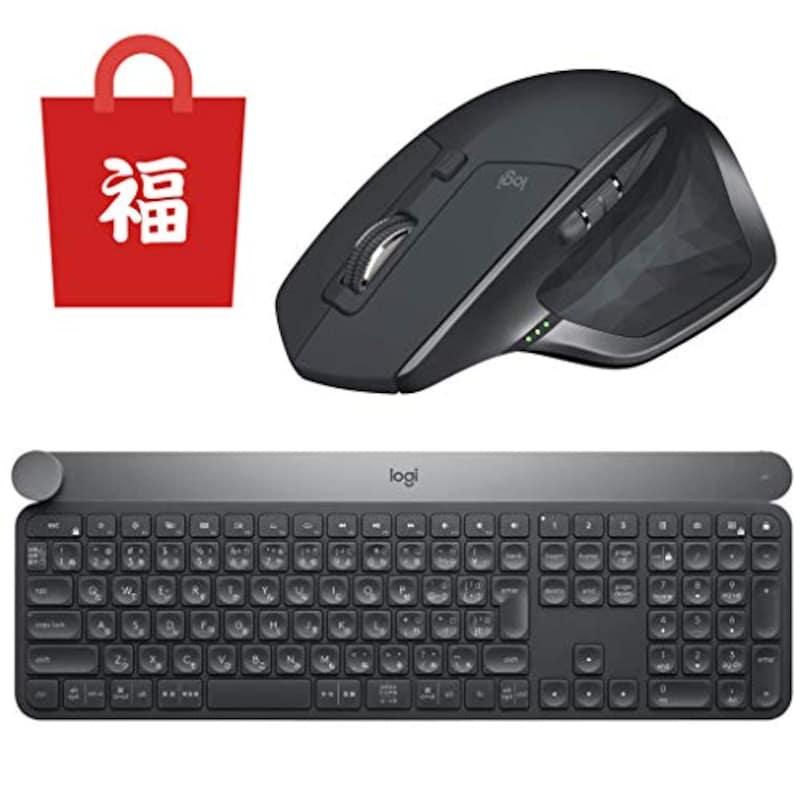ロジクール,ワイヤレス マウス キーボード セット【MX2100CR + KX1000s】