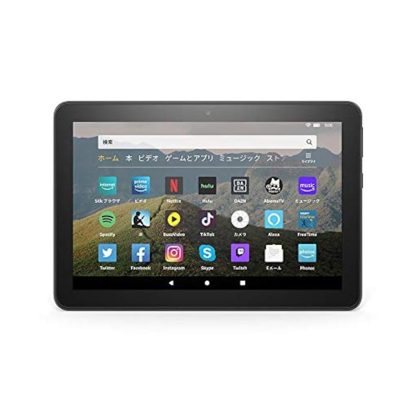 Amazon,Fire HD 8 タブレット ブラック