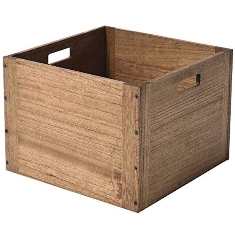KIRIGEN(桐趣),木製 収納ボックス