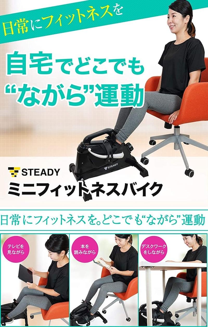 STEADY(ステディ),ミニフィットネスバイク,ST121