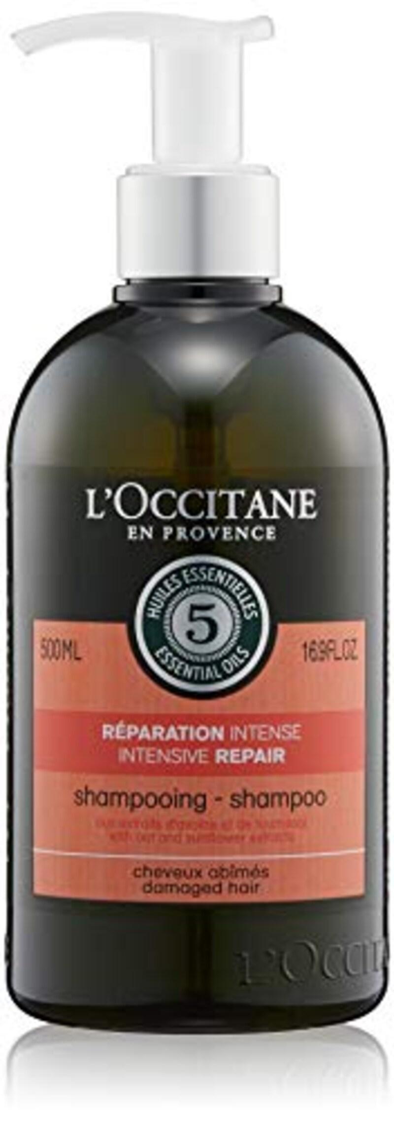 L'OCCITANE(ロクシタン),ファイブハーブス リペアリングシャンプー アロマティックハーブ ポンプ