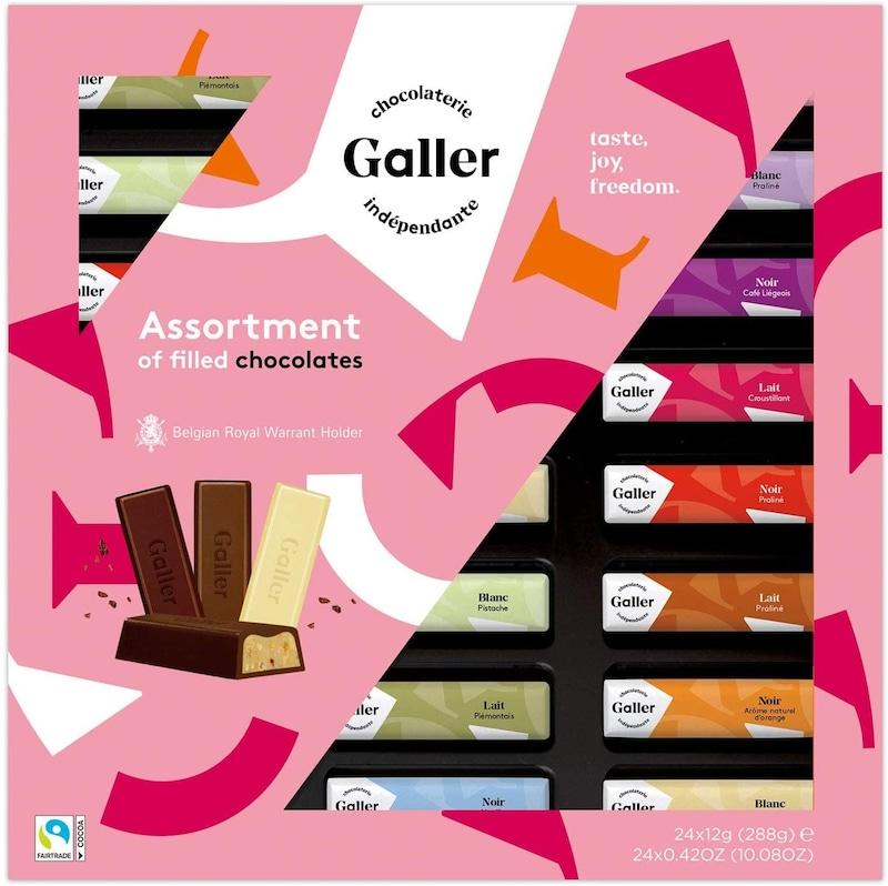ガレー(Galler) ,ミニバーギフトボックス 24本入 バレンタインパッケージ