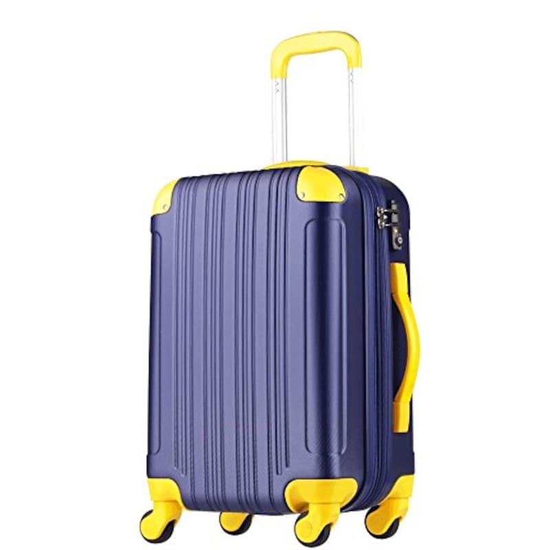 LEGEND WALKER(レジェンドウォーカー),機内持込可 拡張キャリーバッグ ,W-5082-48-SL
