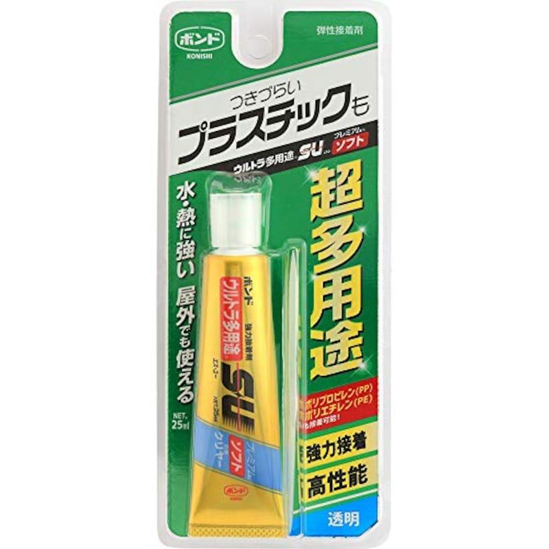 KONISHI(コニシ),ウルトラ多用途S・U プレミアムソフト クリヤー,5141