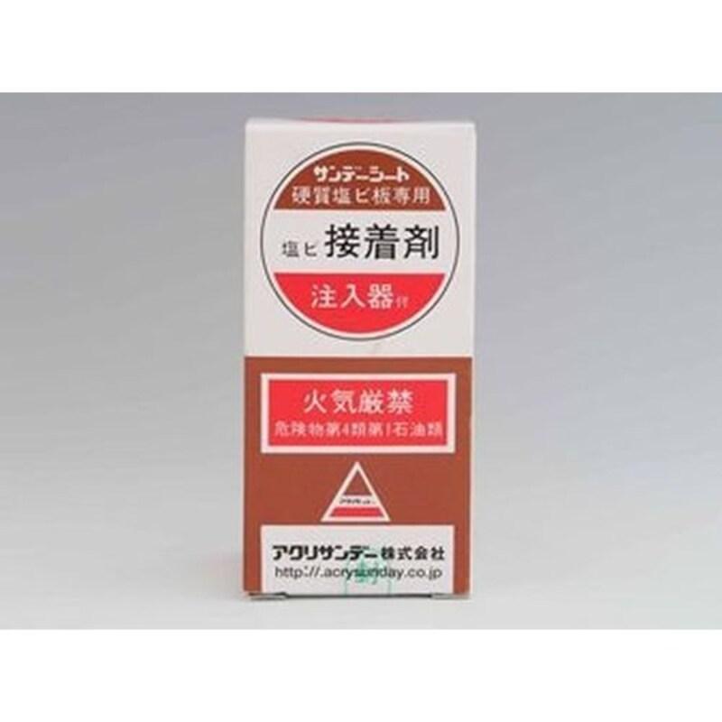 Acrysunday(アクリサンデー),サンデーシート 硬質塩ビ板用接着剤